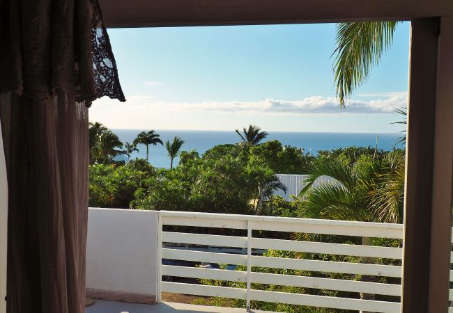 holidays in reunion island with tropical and a villa with sea view