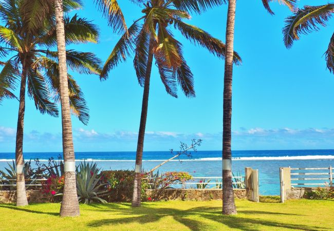 beautiful house to rent next to the beach in Reunion Island