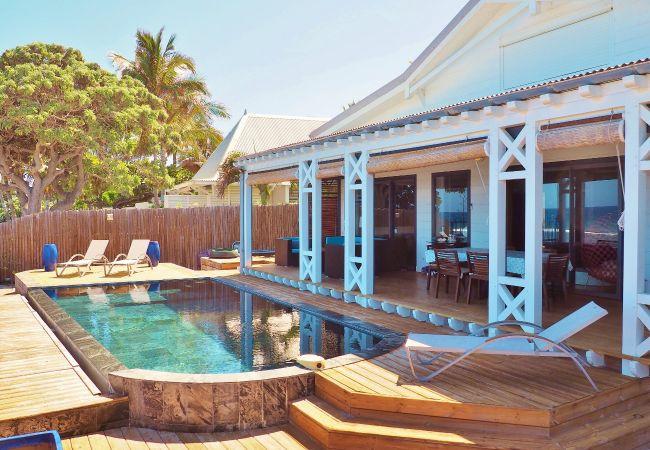 Villa à louer sur tropical home pour des vacances à la réunion