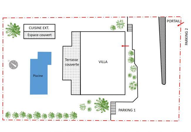 Villa in Plateau Caillou - Villa Océan
