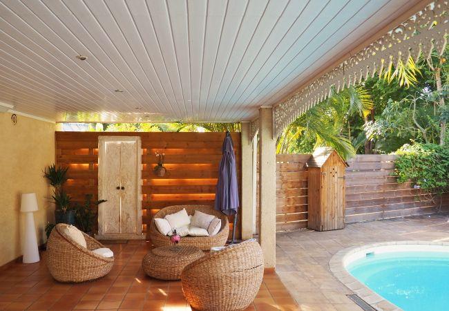 Séjour de rêve à la Réunion dans une villa avec varangue