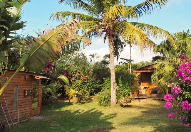 Vacation house in reunion island with beautiful garden