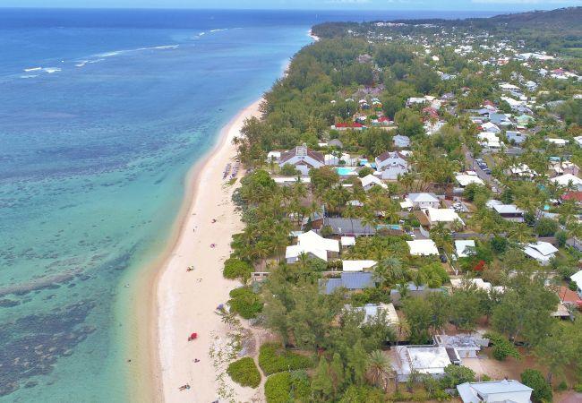 hébergement de vacances les pieds dans l'eau à la Réunion