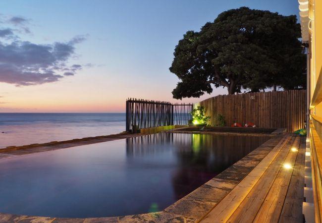 Maison de vacances tropical home avec accès direct à la plage
