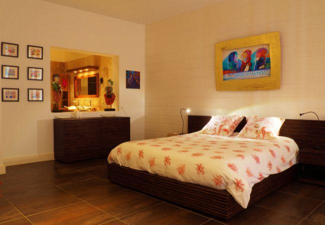 superbes chambres de la villa victoria avec tropical home réunion