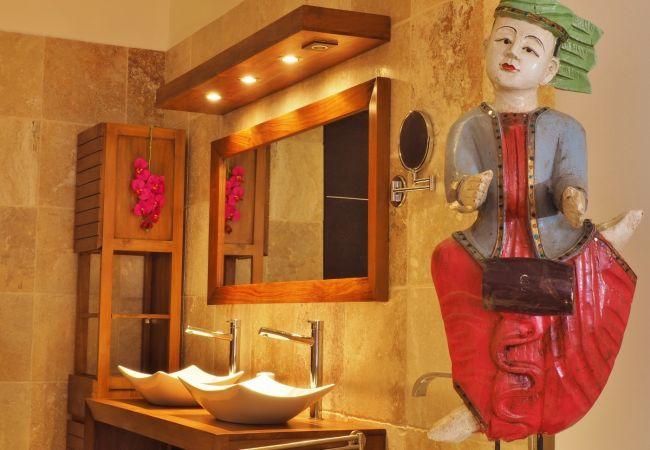 villa victoria avec salle des bains de luxe à la réunion
