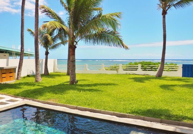 Maison de vacances à la Saline devant le lagon
