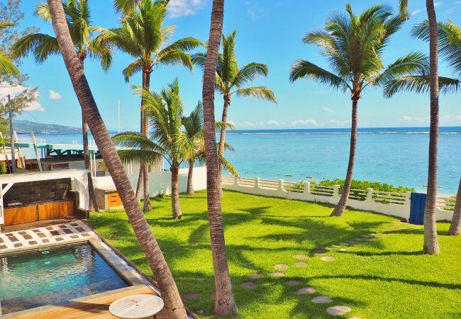 location vacances face lagon à la Réunion