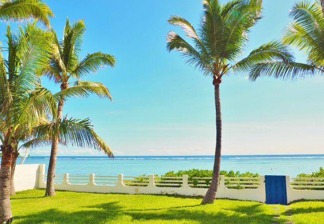 Hébergement avec piscine et devant l'océan à La Réunion
