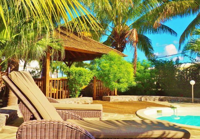 Location de maison de vacances avec piscine à la réunion