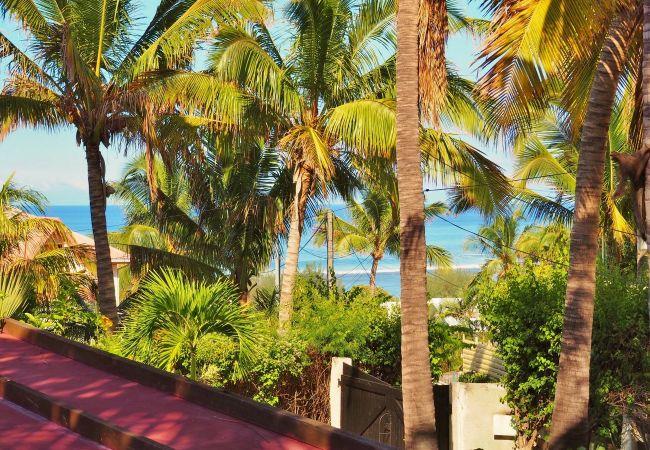 villa avec une vue mer magnifique à la Saline les Bains Réunion