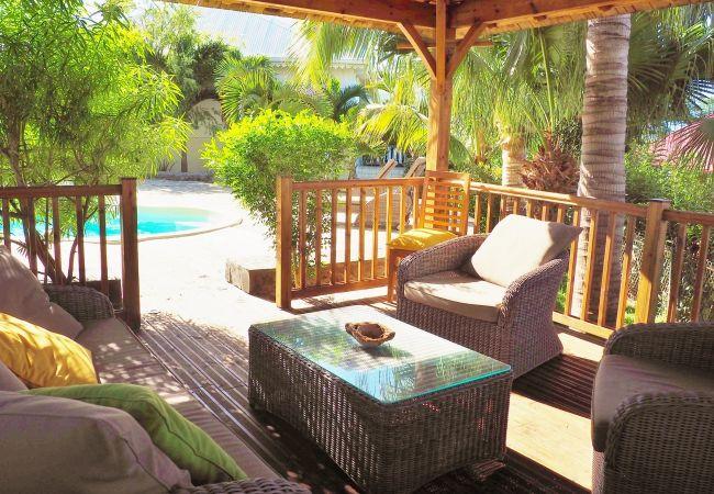 Maison de vacances tropical home réunion avec belle piscine