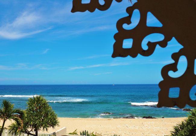 La villa les Aigrettes à la réunion et sa vue de rêve sur l'océan