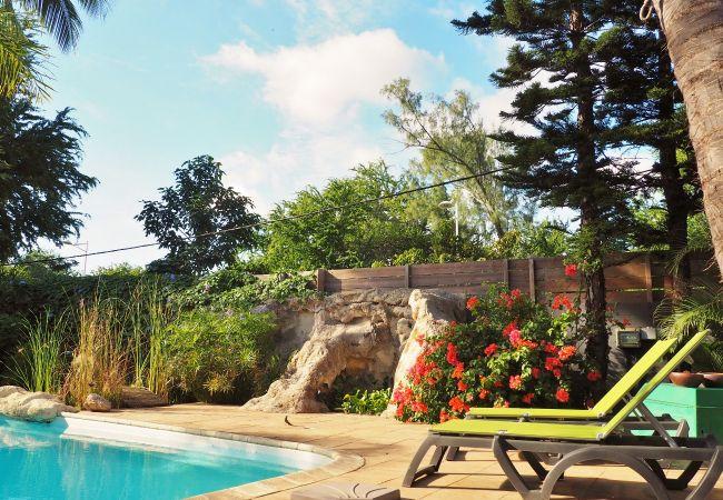 Villa Mademoiselle maison de vacances avec piscine la Réunion