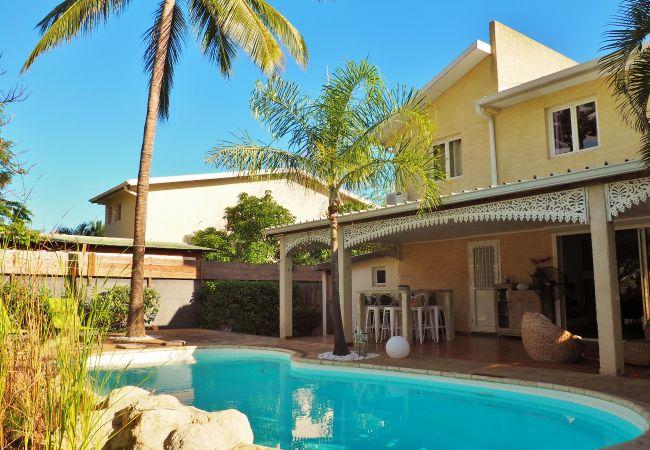 location de vacances villa mademoiselle à l'île de la Réunion