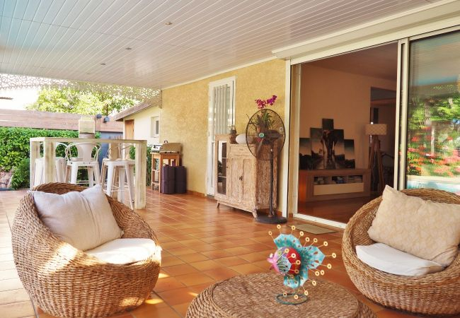 Une location de vacances avec terrasse à la Réunion