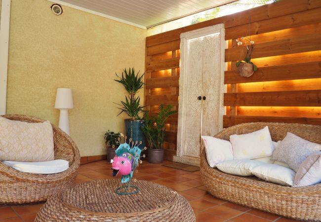 Superbe location de vacances avec varangue à la Réunion