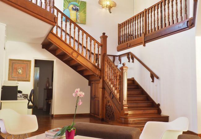 Grands volumes de la villa Mademoiselle avec Tropical Home