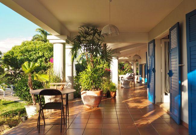 Superbe location de vacances avec terrasse à la Réunion