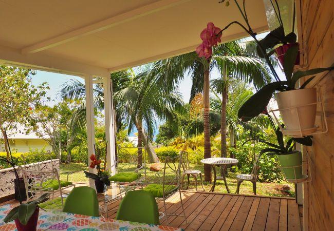 Location maison à la Réunion avec belle terrasse