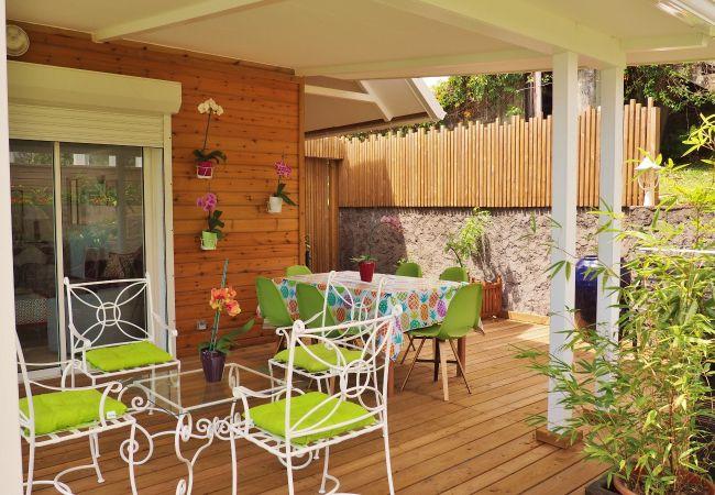 Séjour à la Réunion dans une villa avec terrasse