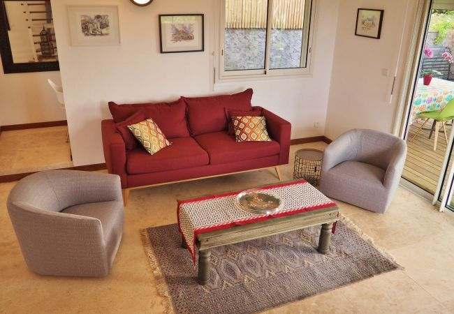 Location de maison avec salon pour vos vacances à la Réunion