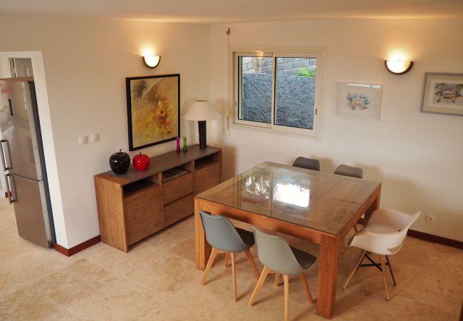 tropical home Réunion présente la villa des Palmiers à louer