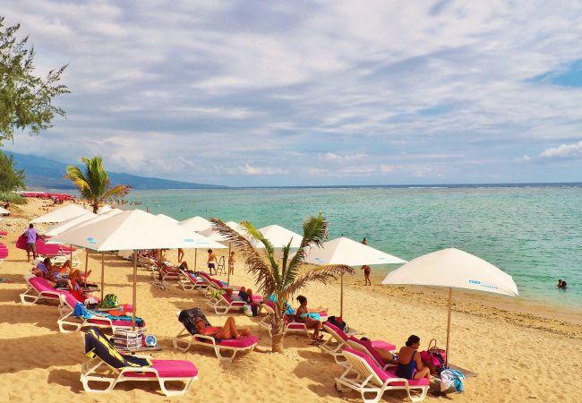 Magnifique villa à louer à côté de la plage de la Saline les Bains