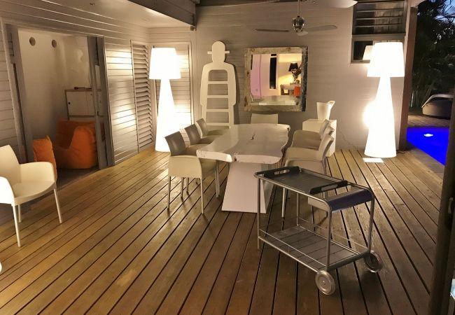 Maison de vacances tropical home avec bel éclairage