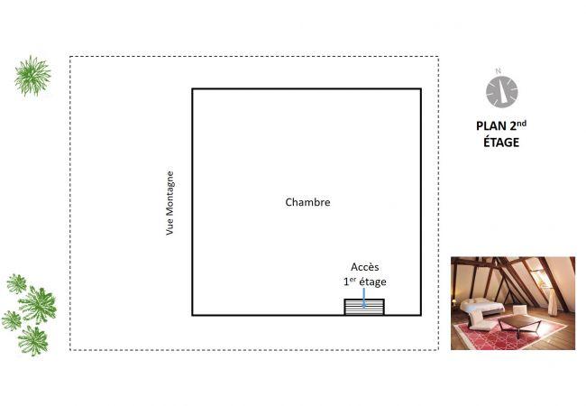 Plan de la magnifique location meublée à saint-Denis 97400