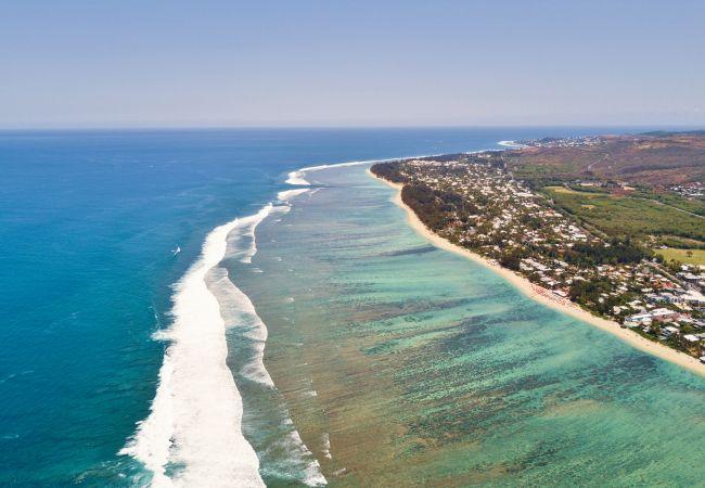 Location vacances à la Réunion proche du lagon