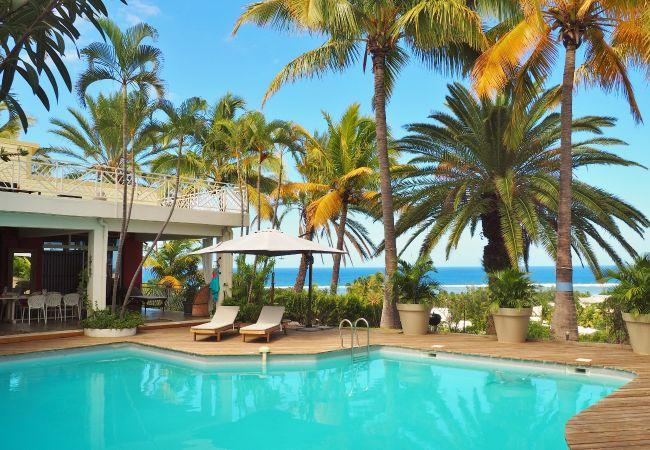 Maison de vacances avec piscine à La Réunion