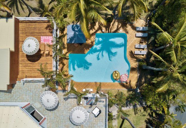 Airbnb de grand standing avec piscine à La Réunion