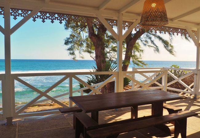 Maison de vacances à la Réunion face à la mer