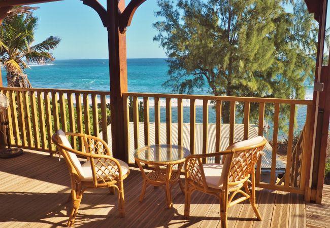 Magnifique maison de vacances avec vue mer à la réunion