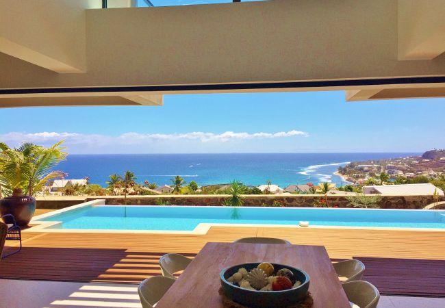 location vacances piscine jacuzzi La Réunion