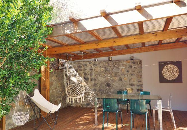 Villa de vacances avec deux terrasses