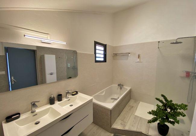 La villa évasion compte 3 salles de bains