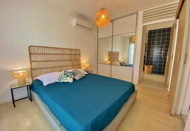 Villa avec chambre climatisée