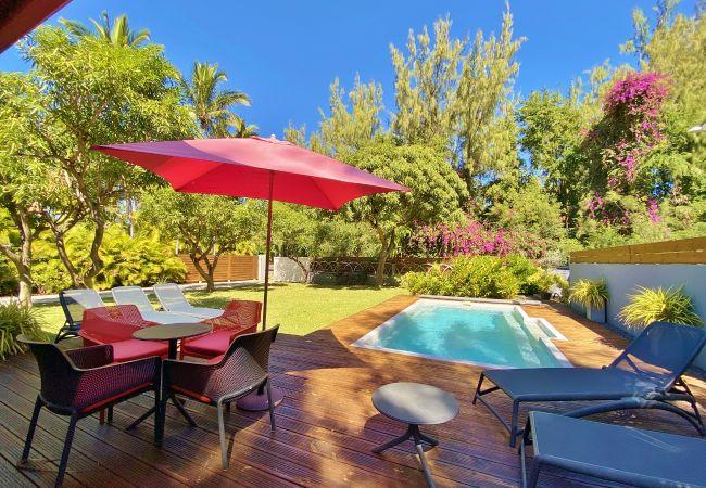 La villa Manguiers, une location de vacances Tropical Home Réunion